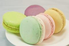 Macaron colorido Imagem de Stock Royalty Free