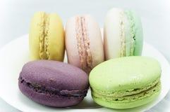 Macaron colorido Foto de Stock