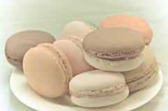 Macaron colorido Imagens de Stock Royalty Free