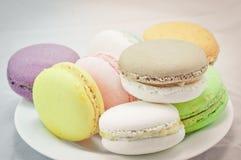 Macaron colorido Fotos de Stock