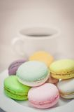 Macaron colorido Fotografia de Stock