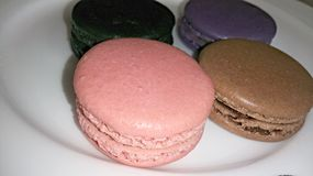Macaron colorido Fotos de archivo