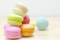 Macaron colorido Imágenes de archivo libres de regalías