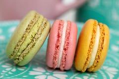 Macaron cookies Royalty Free Stock Image