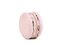 Macaron cor-de-rosa Foto de Stock Royalty Free