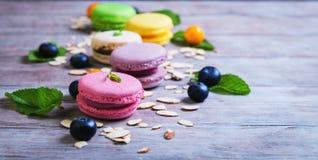 Macaron de gâteau d'air photographie stock libre de droits