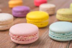 Macaron de mélange Photographie stock libre de droits