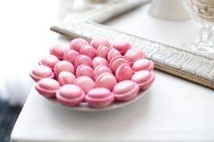 Macaron dei biscotti Fotografia Stock Libera da Diritti