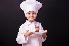 Macaron del biscotto Immagini Stock
