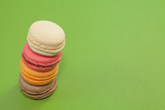 Macaron dessert Stock Photos