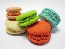 Macaron, dessert pendant le temps de thé. Photographie stock