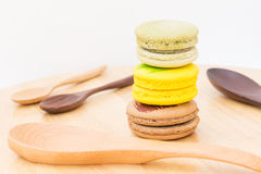 Macaron desserts Stock Photography