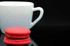 Macaron et cofee Photos stock