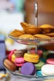Macaron et Madeleines Photo stock