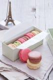 Macaron för franska bakelser Royaltyfri Bild
