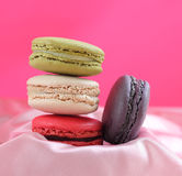 Macaron is food dessert of french. Stock Images