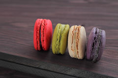 Macaron is food dessert of french. Stock Photography