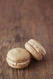 Macaron francês Fotografia de Stock Royalty Free