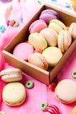 Macaron francês fotografia de stock