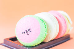 Macaron French pastry Royalty Free Stock Photo