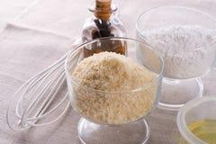 Macaron ingredients Royalty Free Stock Image