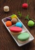 Macaron multi color. Royalty Free Stock Photo