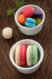 Macaron multi color. Royalty Free Stock Photography