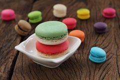 Macaron multi color. Royalty Free Stock Photos