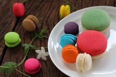 Macaron multi color. Stock Photography