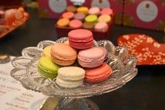 Macaron Paris Frankreich Lizenzfreie Stockfotos