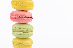 Macaron pile Royalty Free Stock Photo