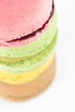 Macaron pile Stock Photography