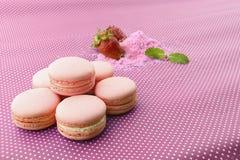 Macaron pour l'amour Photo stock
