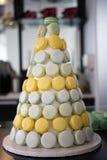 Macaron Pyramid Royalty Free Stock Image
