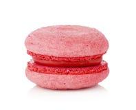 Macaron rose Photo libre de droits