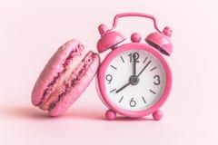 Free Macaron Snack Time Minimal Creative Concept. Stock Photos - 116818573