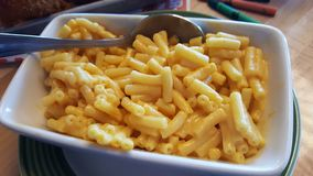 Macaroni και τυρί στοκ εικόνα