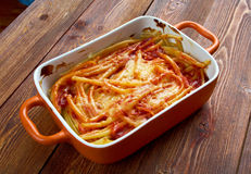 Macaroni με το τυρί Στοκ Εικόνα