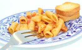 Macaroni Royalty-vrije Stock Foto