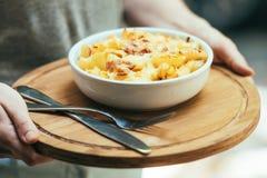 macaroni Arkivfoto