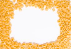 Macaroni background Royalty Free Stock Image