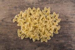 Macaroni background Stock Photography