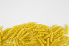 Macaroni bottom border Royalty Free Stock Photos