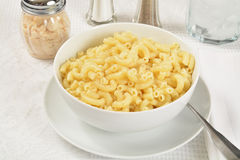 Macaroni and butter Royalty Free Stock Photography