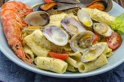 Macaroni carbonara Royalty Free Stock Photo