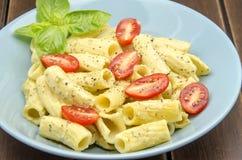Macaroni carbonara Stock Image