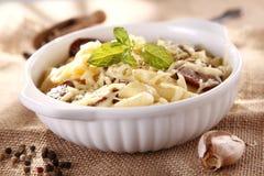 Macaroni casserole Stock Photo