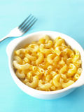 Macaroni and cheese Stock Image