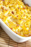 macaroni with cheese Stock Photography