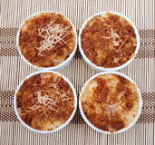 Macaroni and cheese Royalty Free Stock Photos